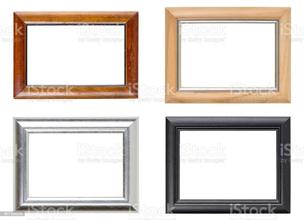 Sammlung von vier Bilderrahmen – Foto