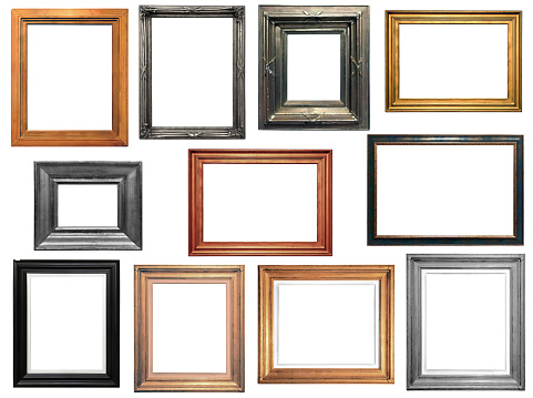 Collection of isolated frames