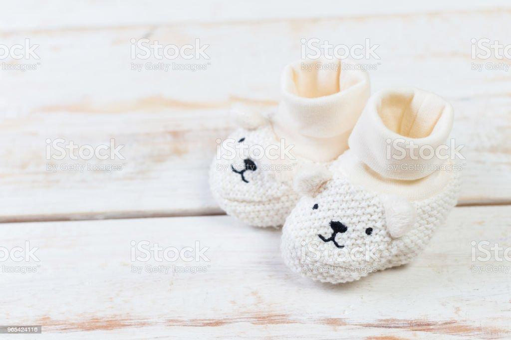 Collection of items for babies zbiór zdjęć royalty-free