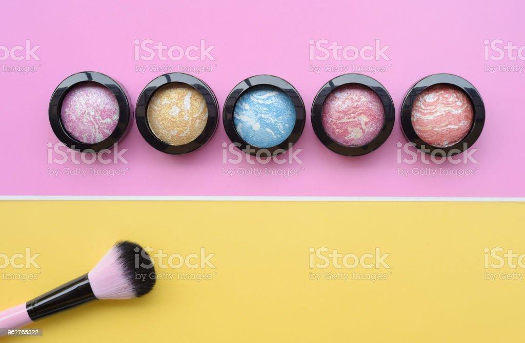 coleção da marca acima e cosmética beleza - Foto de stock de Adulto royalty-free