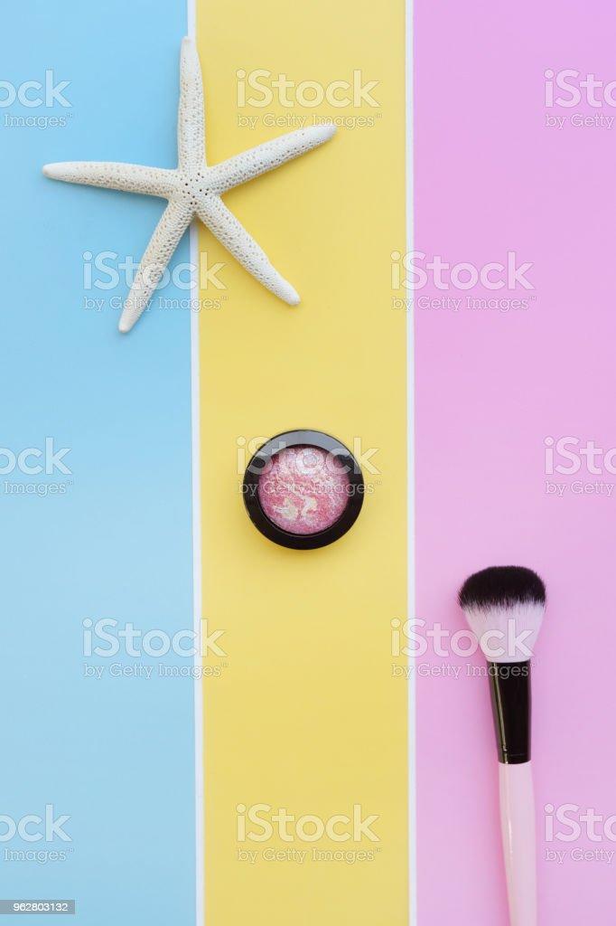 coleção da marca acima e cosmética beleza - Foto de stock de Arrumado royalty-free