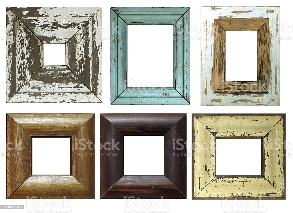 Collection Of Old Frames Stock Photo & More Pictures of Antique   iStock