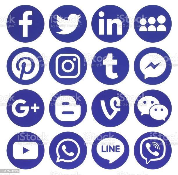Collection of popular blue round social media icons picture id657524224?b=1&k=6&m=657524224&s=612x612&h=hnojw7dvutqlkcjjfqgjka1dlgux9abatq9egriy36u=