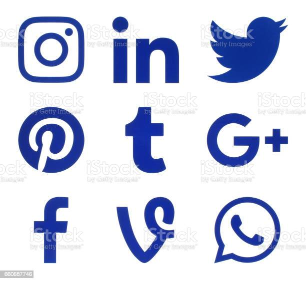 Collection of popular social media blue logos picture id660687746?b=1&k=6&m=660687746&s=612x612&h=ghtuowmbn8rvrydhro lahqzorst32lg9nn7rmsdwiw=