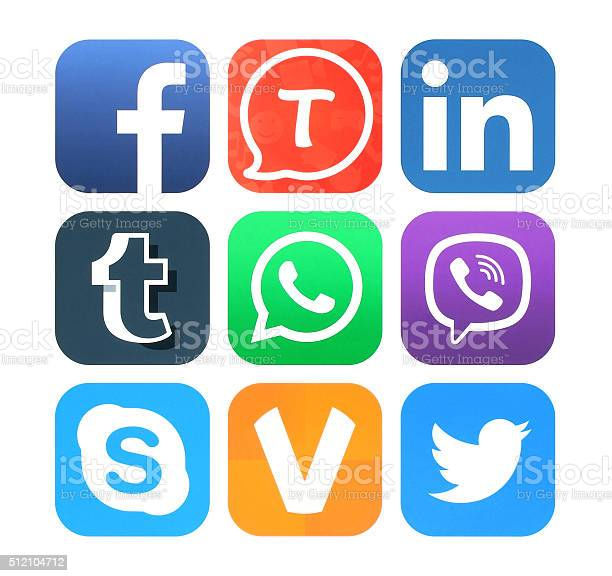 Collection of popular social networking icons picture id512104712?b=1&k=6&m=512104712&s=612x612&h=nognuz3v9hnyfs4jolgxksntbqasi2iga3j7s rsjam=