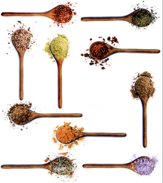 Collection of Spices stock photo
