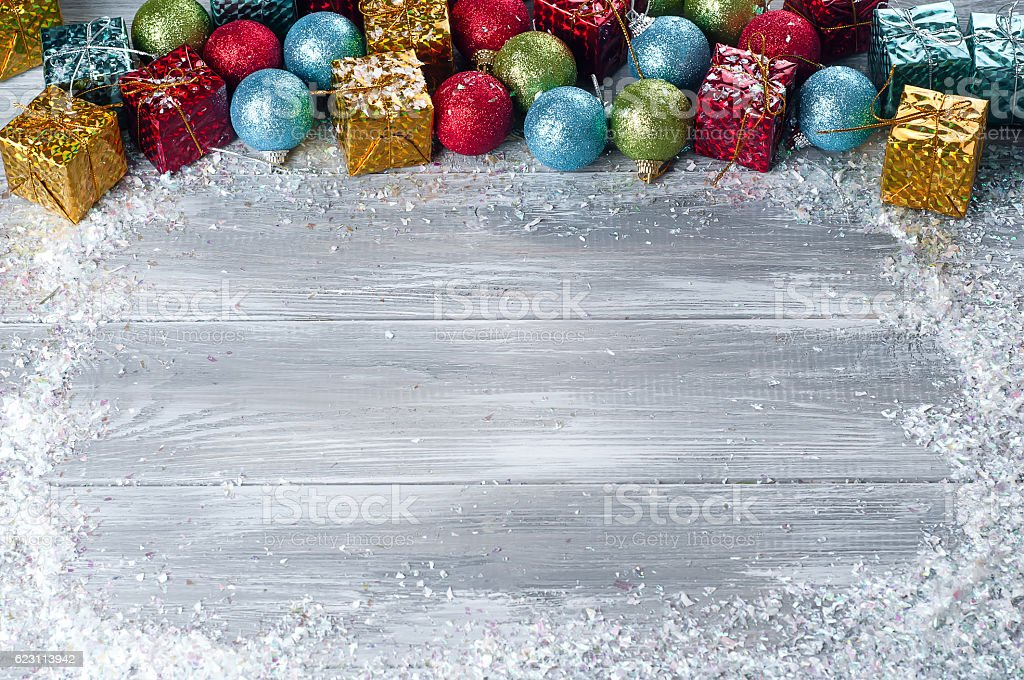 collection of various christmas decorations placed into cardboard box royalty free stock photo - Cardboard Box Christmas Decorations