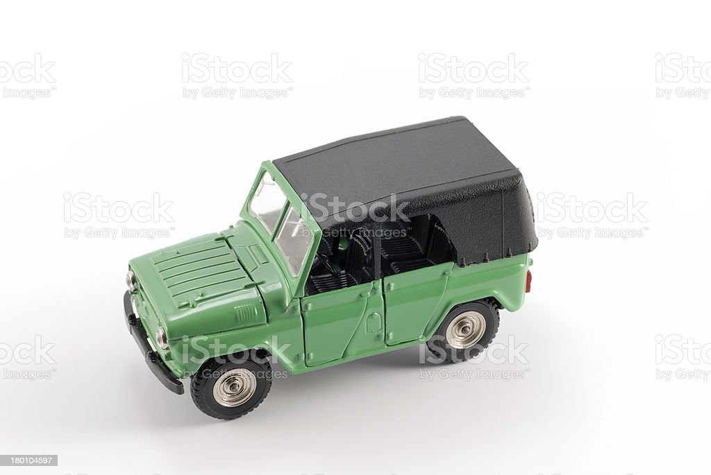 Collection scale model the Off-road car stock photo