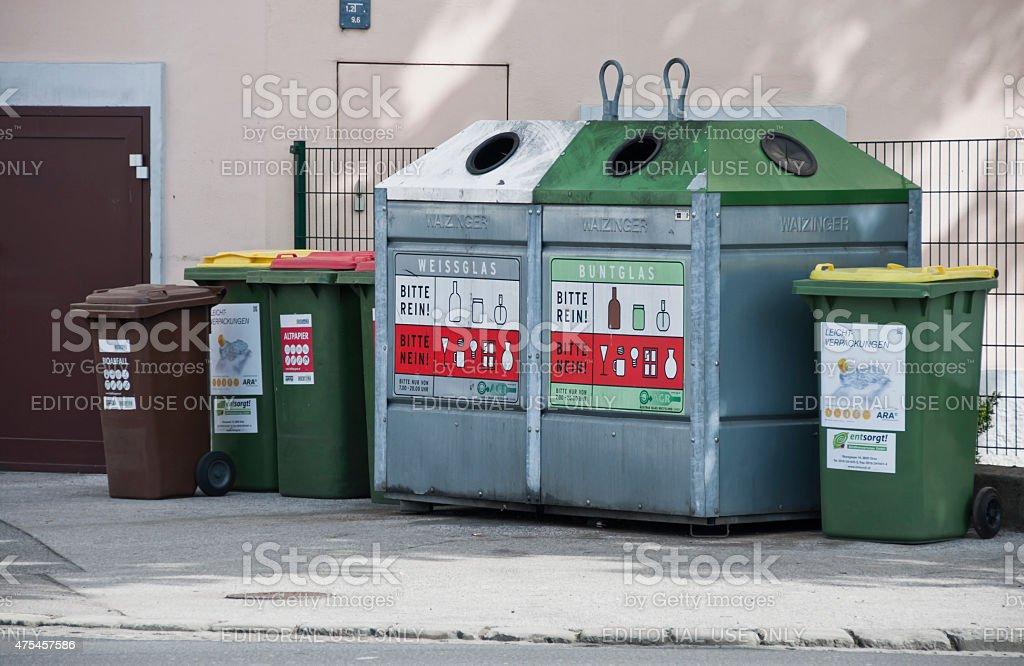 Sammlung, Auswahl und Trennung von Abfall – Foto