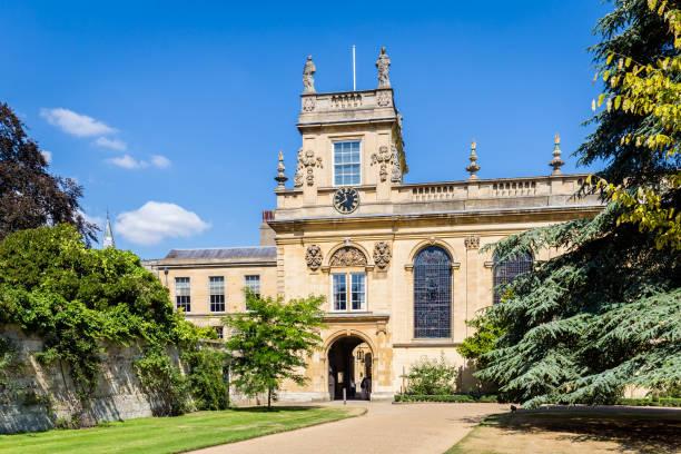 College gebouw in Oxford, UK foto