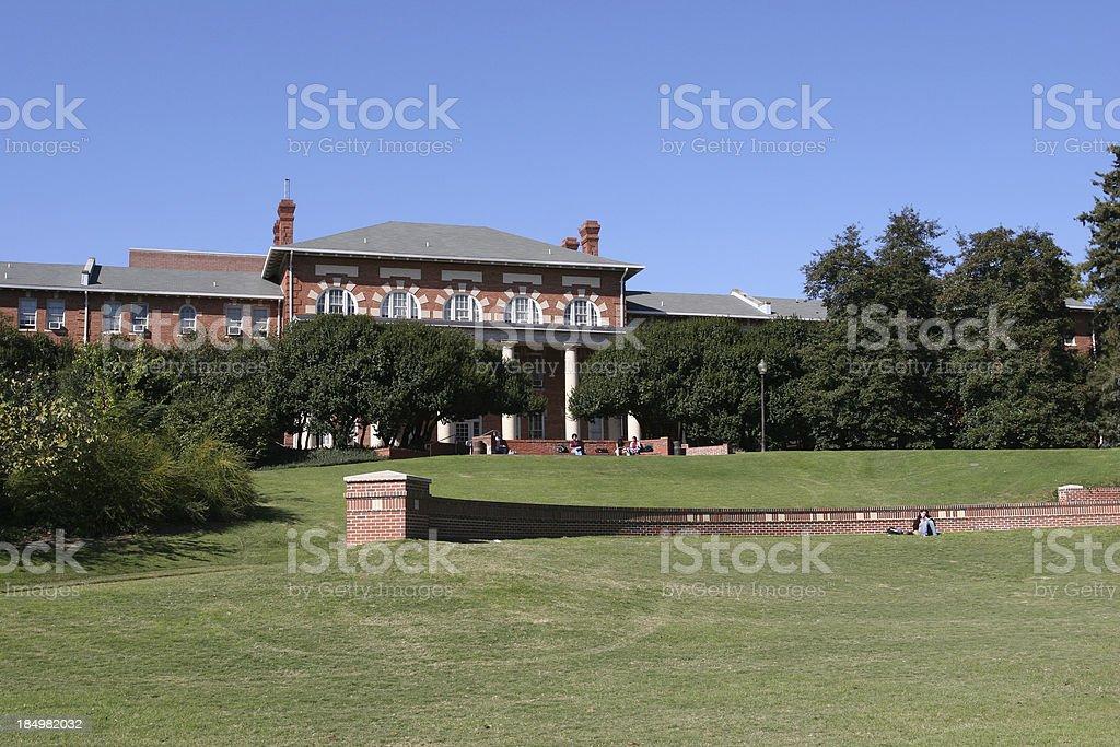 College Campus 02 stock photo
