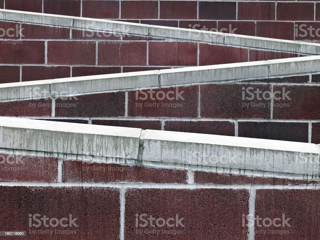 College campus abstract royalty-free stock photo
