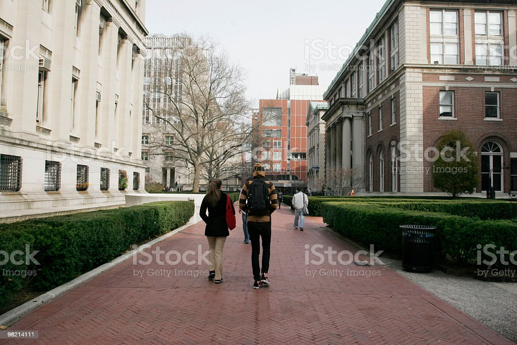 College Campus royalty-free stock photo