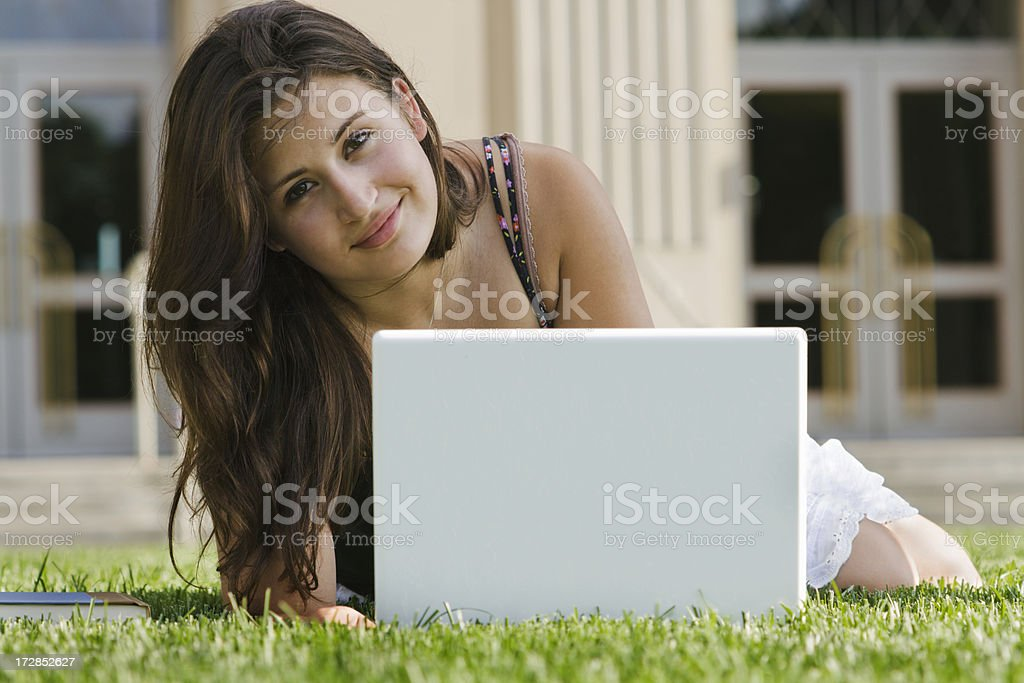 College Class Work royalty-free stock photo