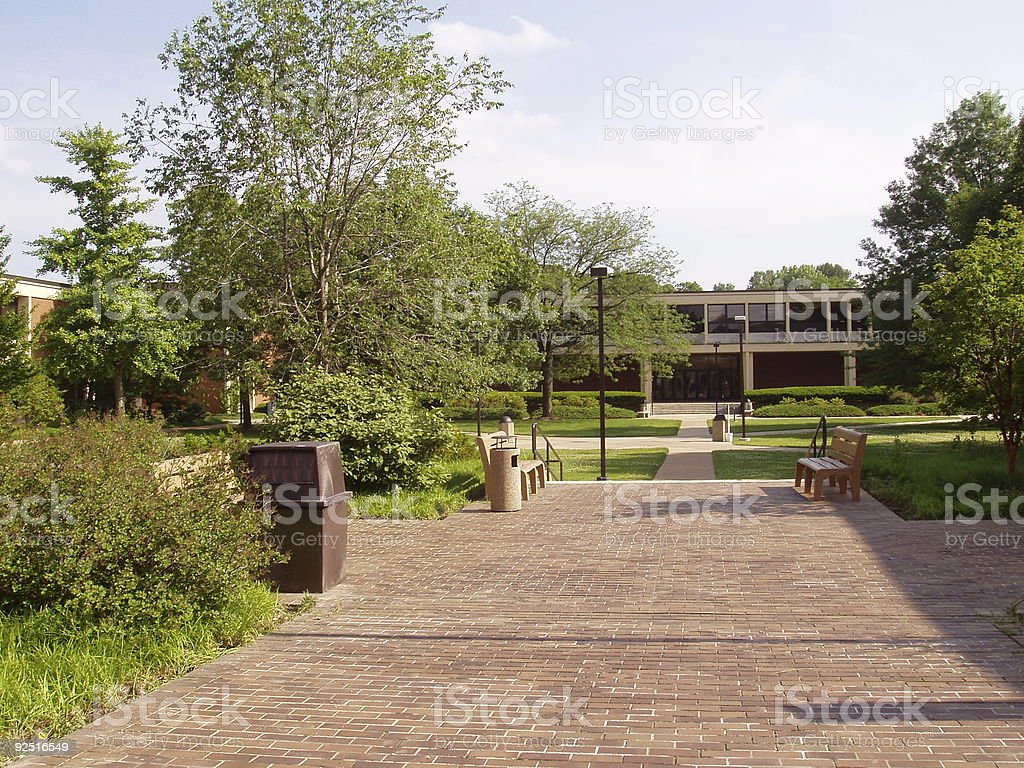 College - Corporate Campus royalty-free stock photo