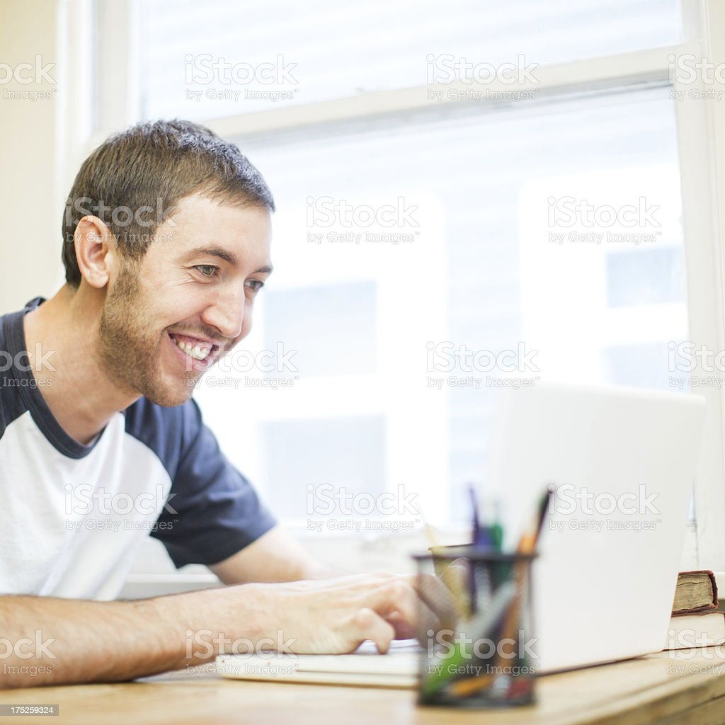 College Dorm and Student royalty-free stock photo