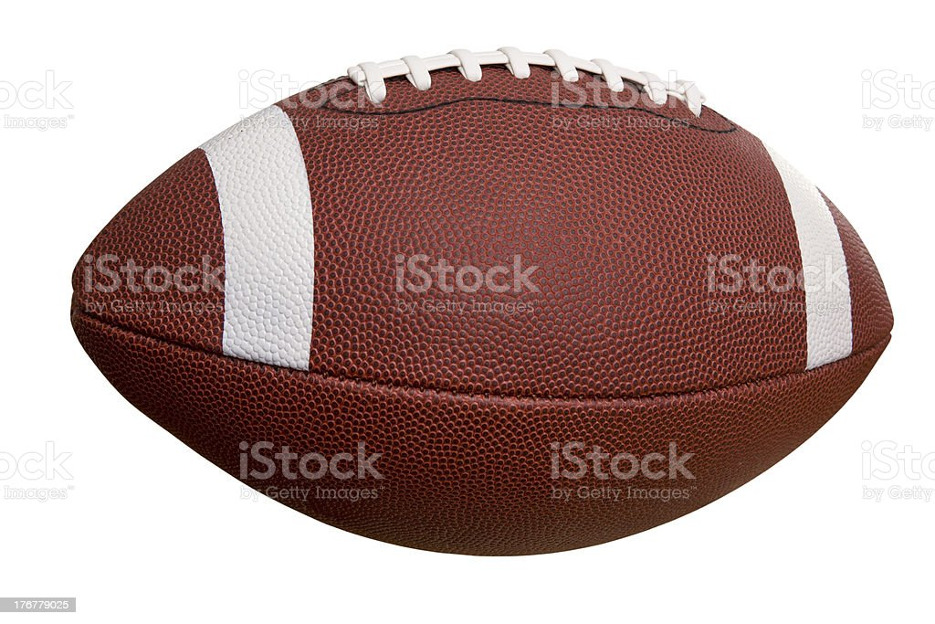 football side college isolated american ball sport cut