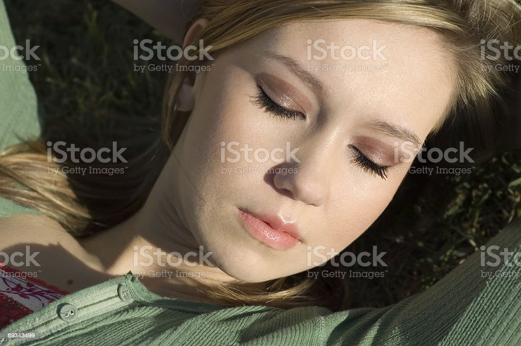 College Girl (series) royalty-free stock photo