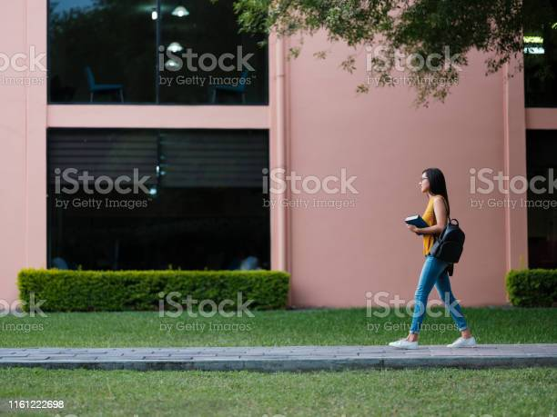 College girl walking through campus picture id1161222698?b=1&k=6&m=1161222698&s=612x612&h=j4ulkpvrwxt3s5zb 018w2u9g2j5jppkbiciodjykh8=