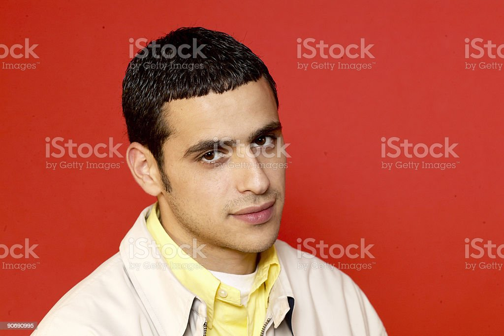 college guy royalty-free stock photo