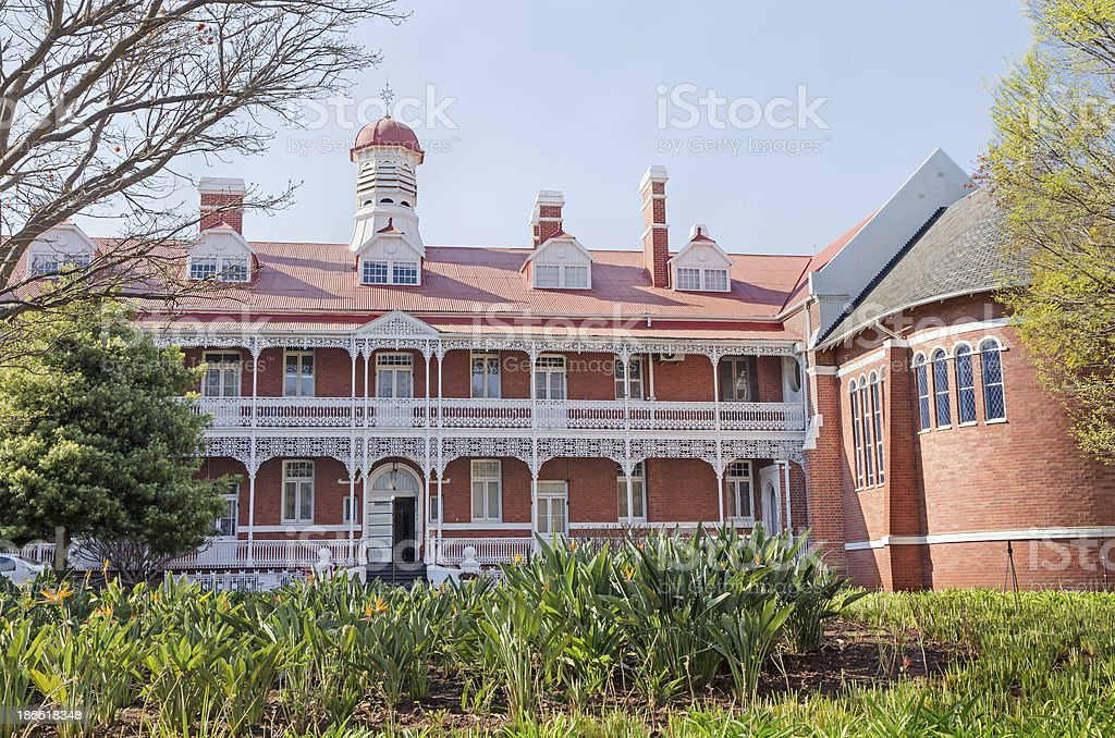 College in Johannesburg royalty-free stock photo