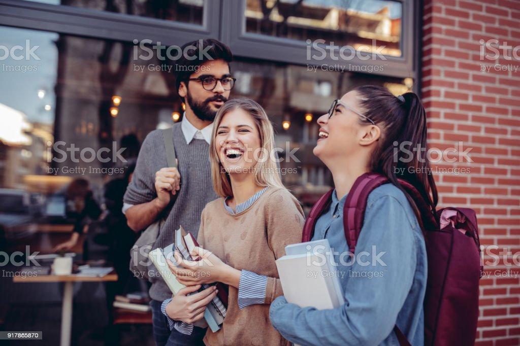 College la vida es increíble foto de stock libre de derechos