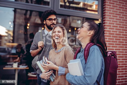 istock College life is awesome 917865870