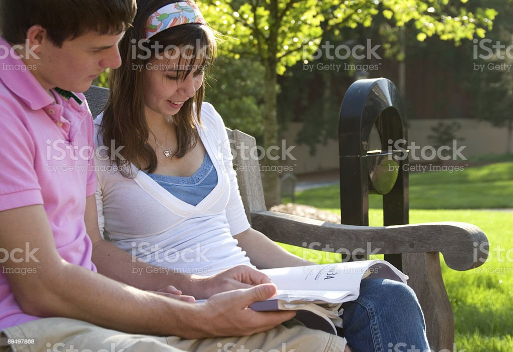 College Life royaltyfri bildbanksbilder