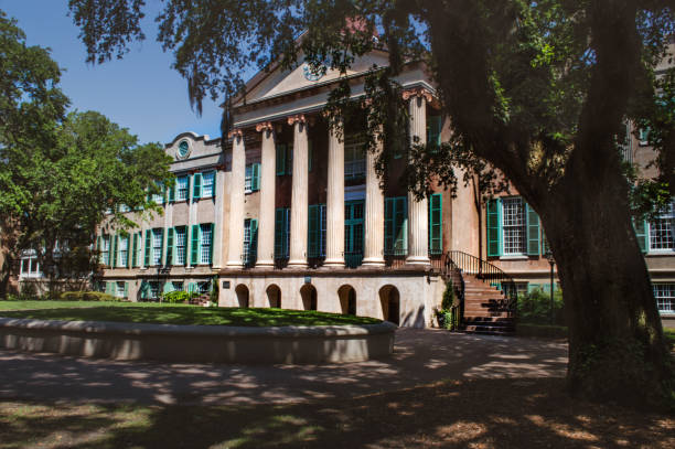 College of Charleston - The Cistern College of Charleston - The Cistern university stock pictures, royalty-free photos & images