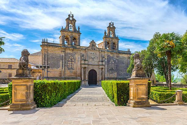 College of Santa Maria de Los Reales Alcazares stock photo