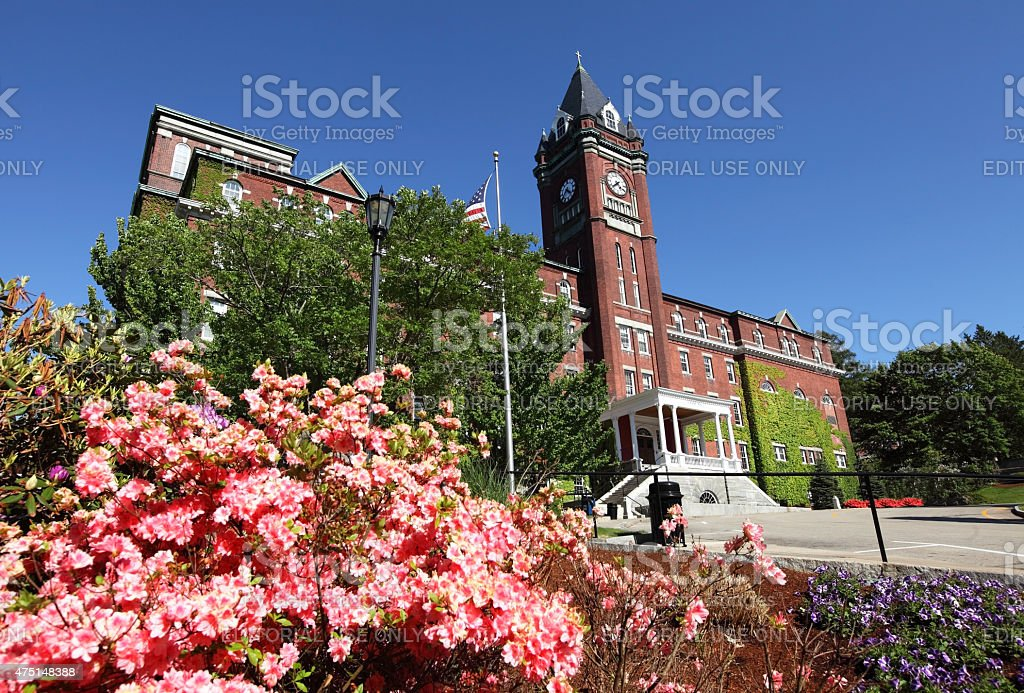 College of the Holy Cross stock photo