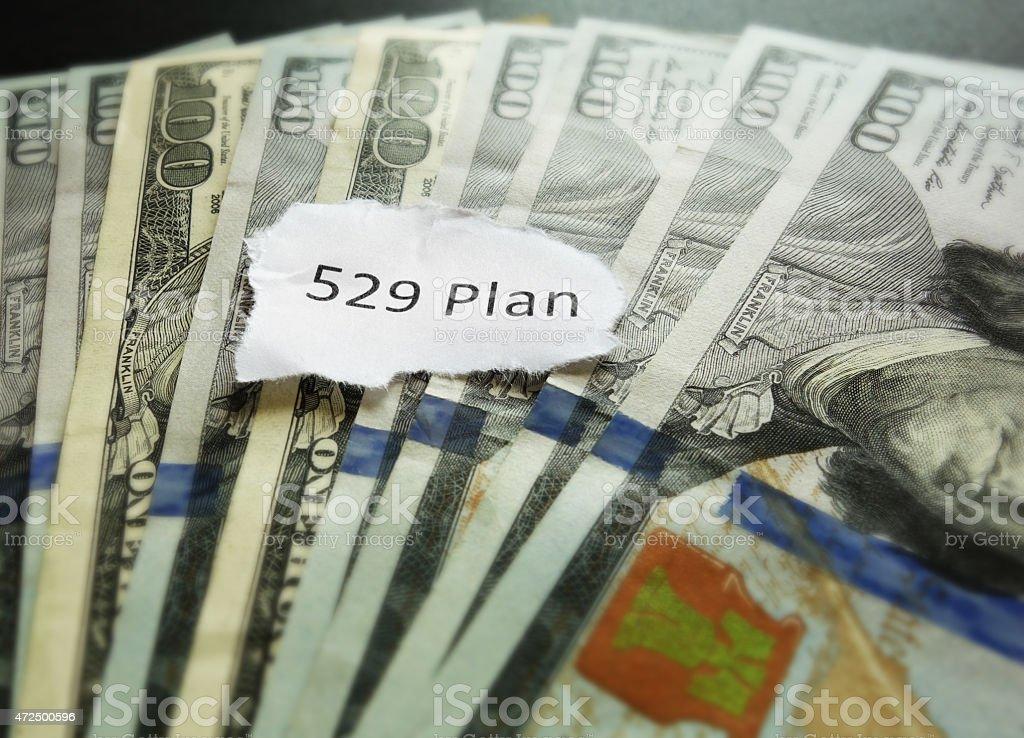 college savings plan 529 stock photo