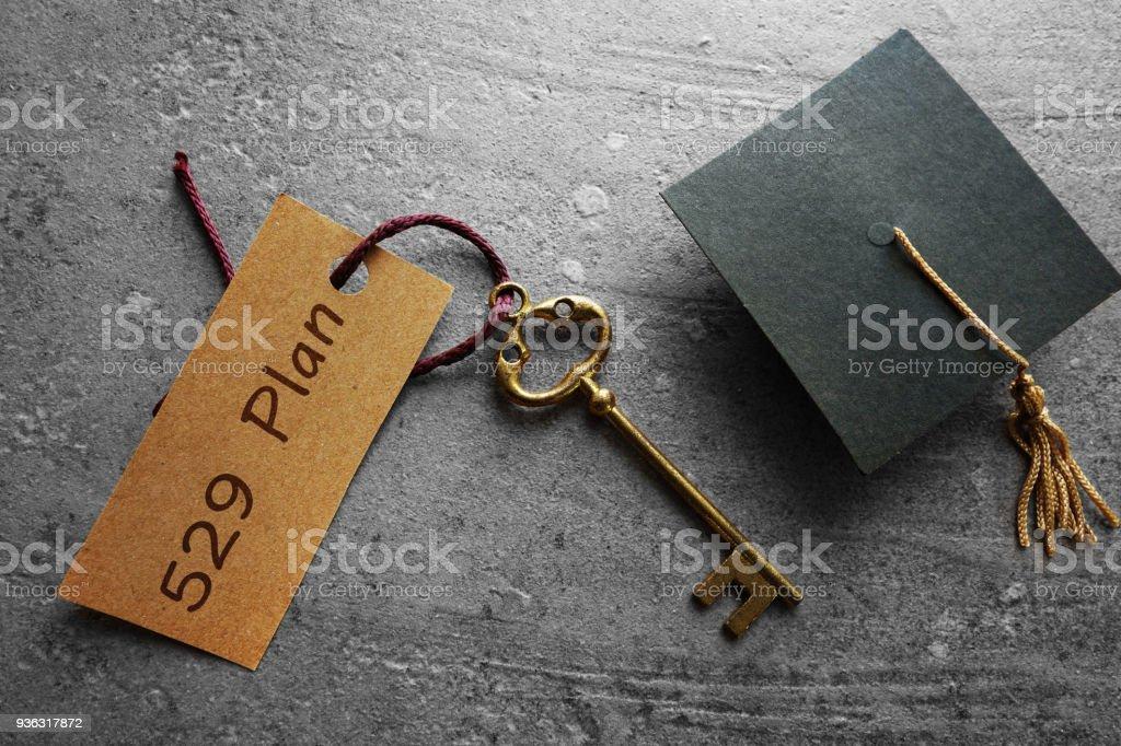 529 college savings planning stock photo