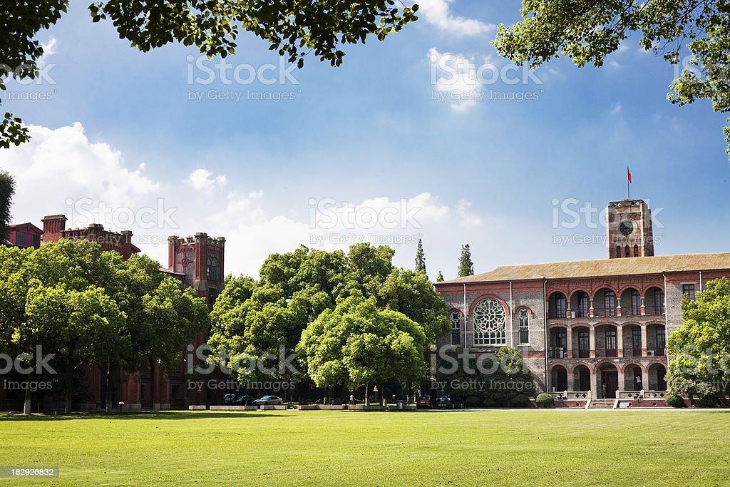 College scence stock photo