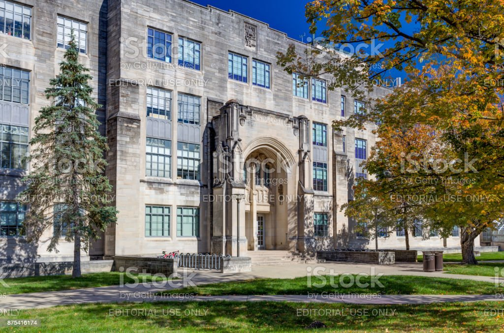 College Science Building and Jordan Hall stock photo