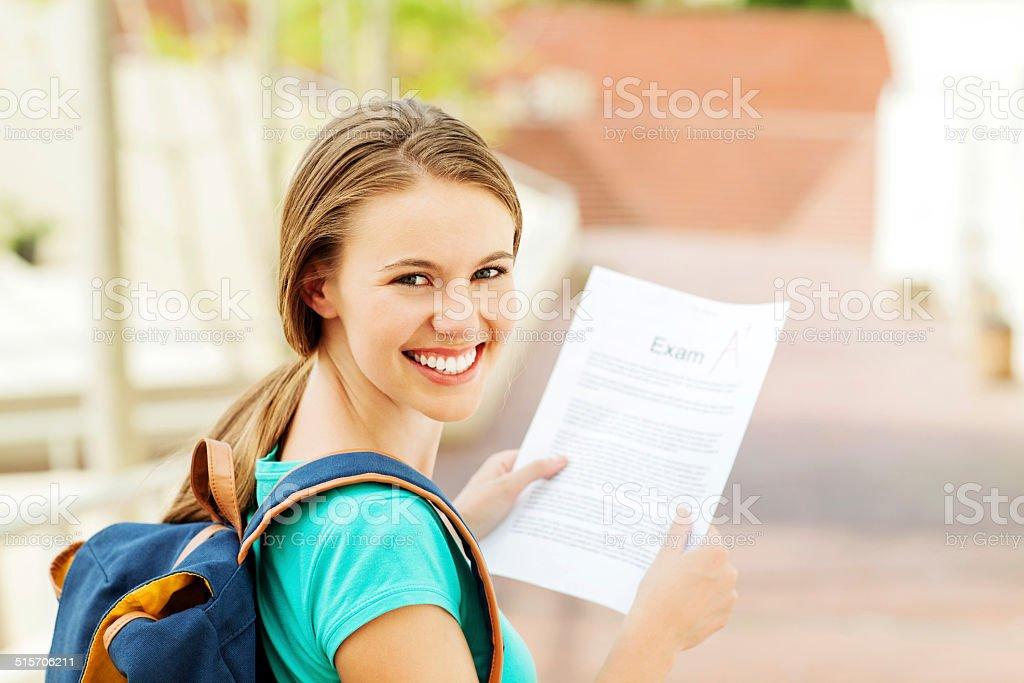 Осмотр студентка