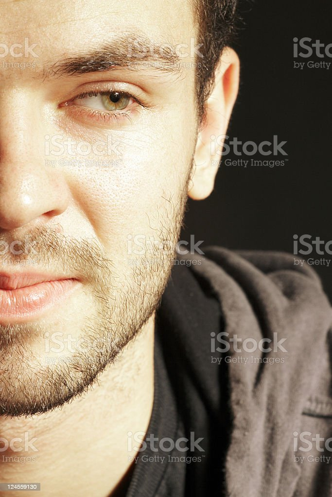 College Student Serious royalty-free stock photo
