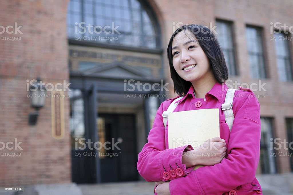 College Student - XLarge royalty-free stock photo
