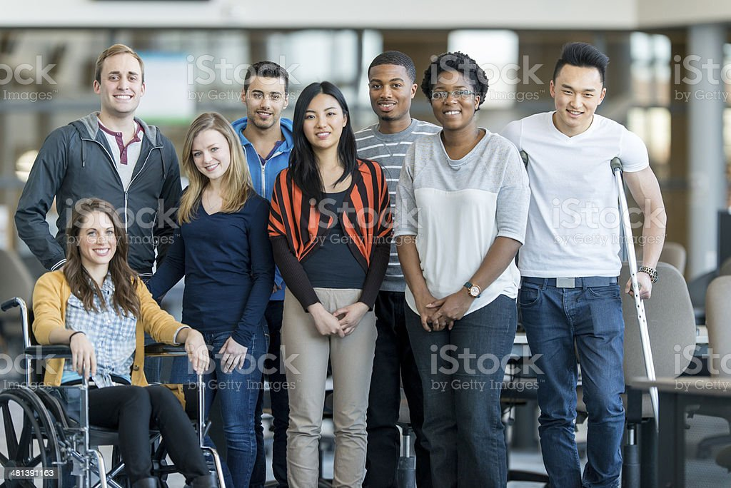 College Students stock photo