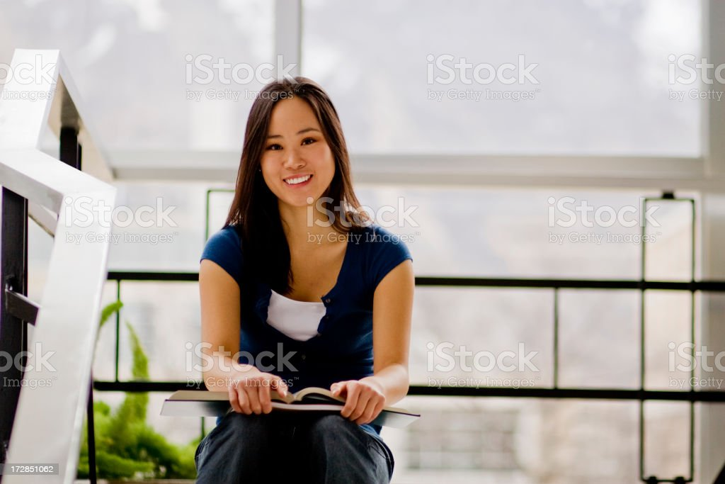 College Study royalty-free stock photo
