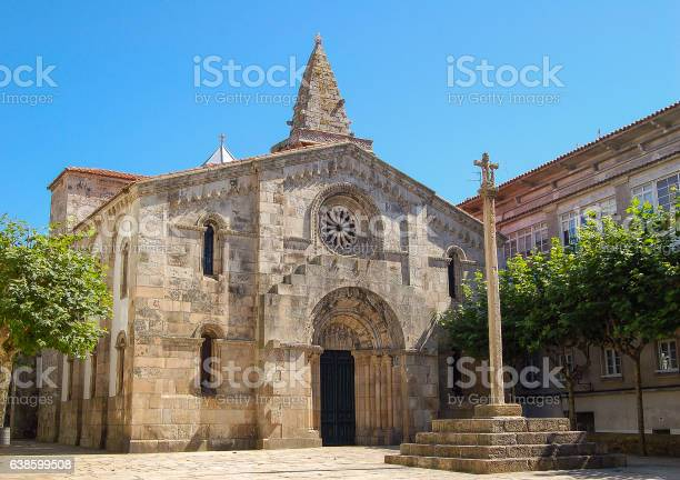 Colegiata De Santa María Del Campo La Coruna Stock Photo Download Image Now Istock