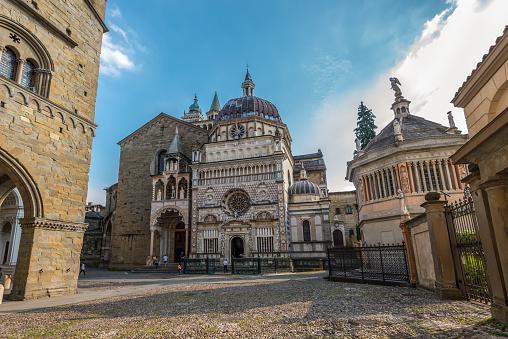 Colleoni Chapel (church and mausoleum), Bergamo, Italy