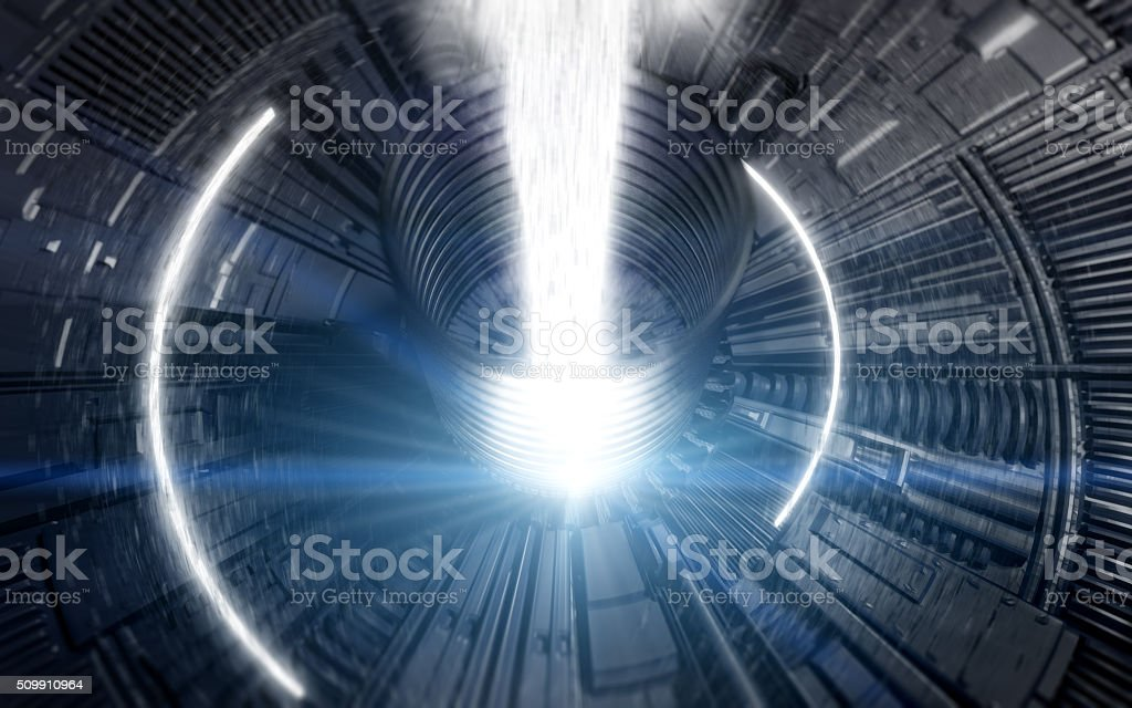 Collider Background stock photo