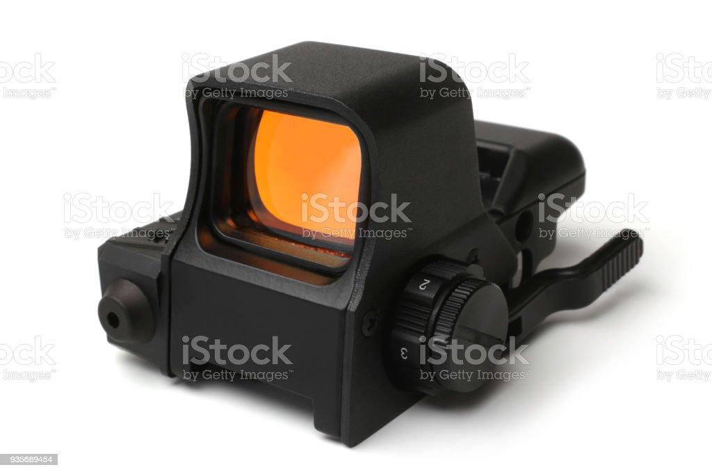Collimator sight stock photo