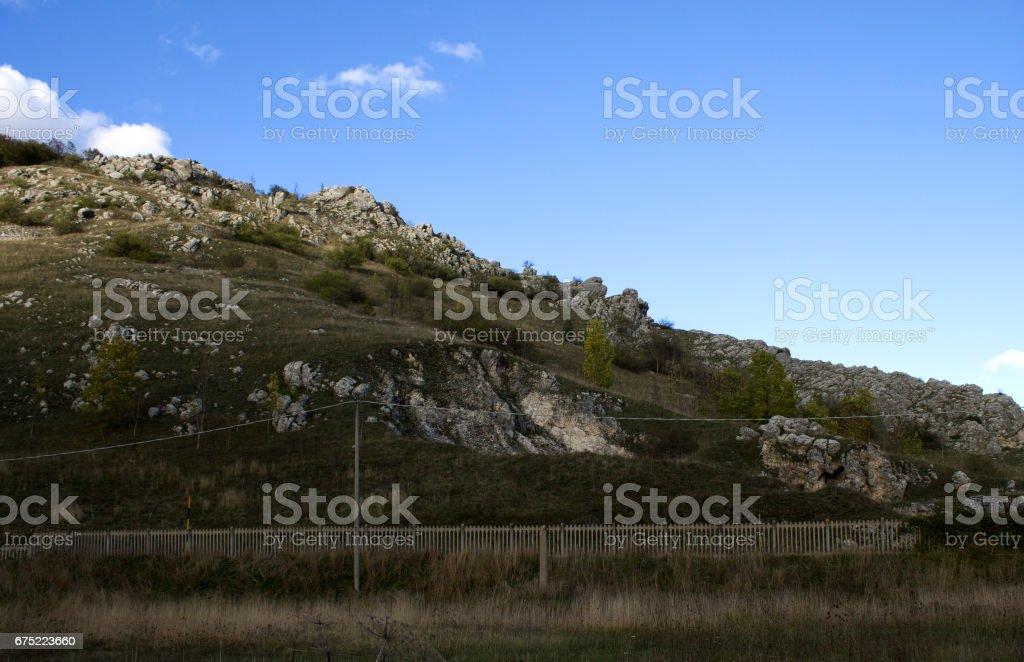 collina rocciosa royalty-free stock photo