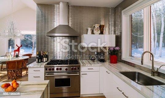 istock Collingwood Cottage Kitchen Interior 466798608