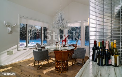 470812928istockphoto Collingwood Cottage Open Concept Dinning room 466386294