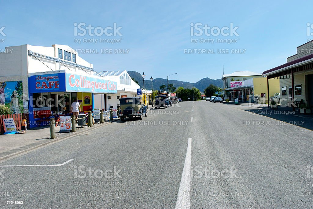 Collingwood, Golden Bay, Tasman Region, New Zealand stock photo