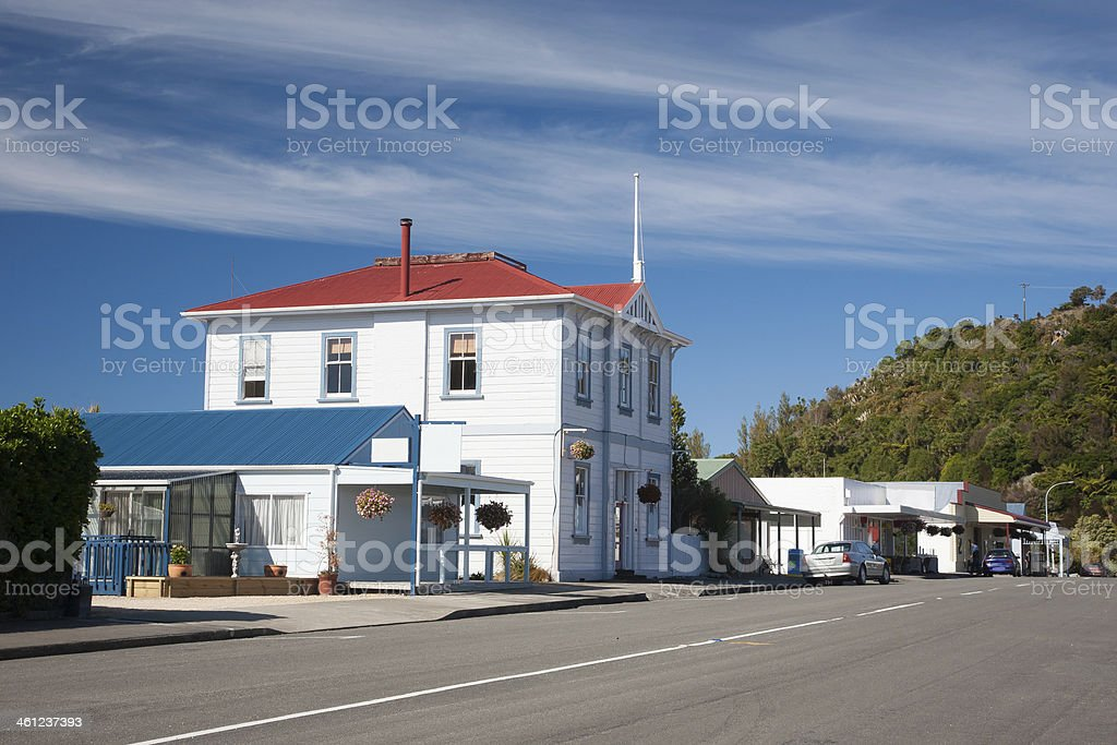 Collingwood  New Zeland stock photo