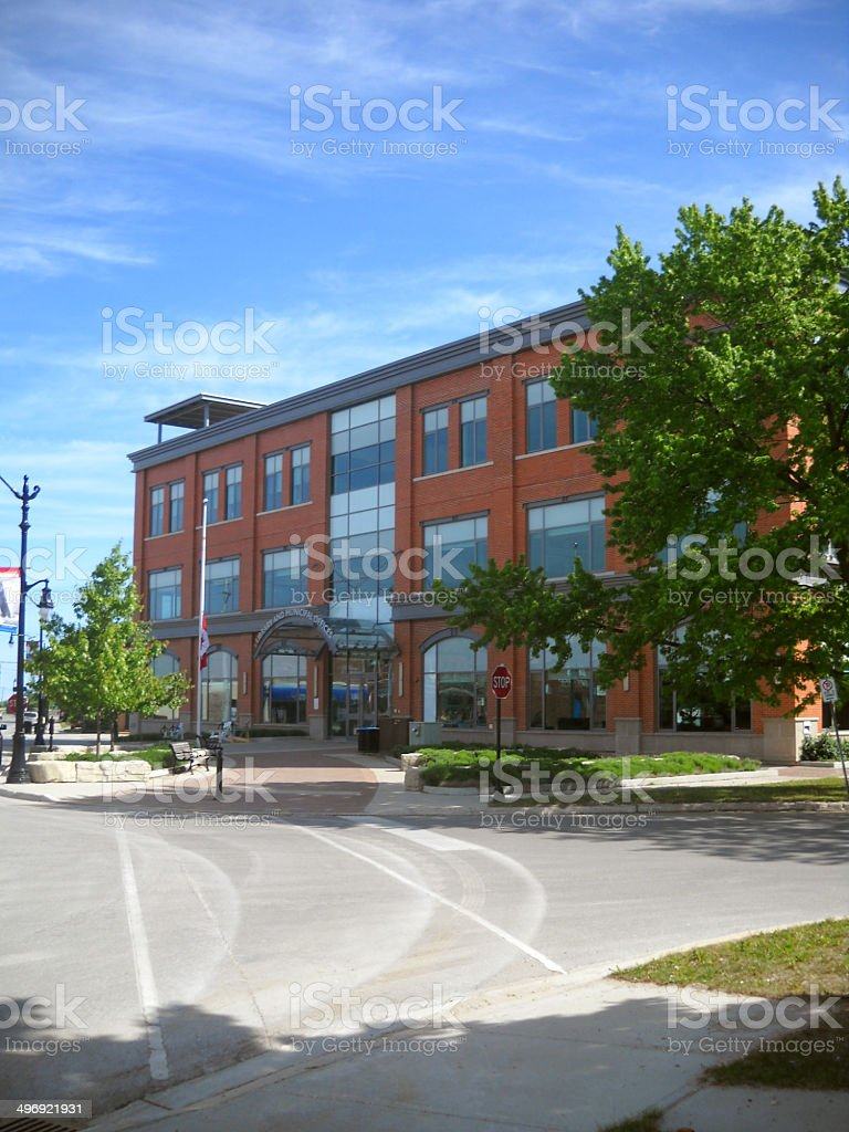 Collingwood Public Library stock photo